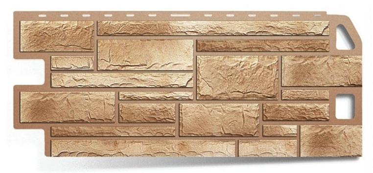 Фасадная панель Альта Профиль камень цвет песчаник