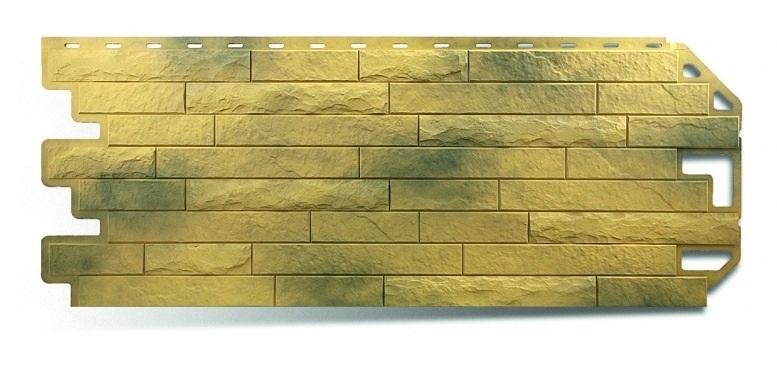 Фасадная панель Альта Профиль кирпич антик цвет карфаген
