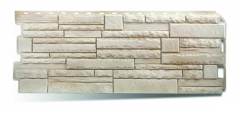 Фасадная панель Альта Профиль скалистый камень цвет альпы