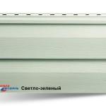 Виниловый Альта сайдинг цвет серо-зеленый