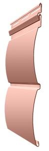 Панель сайдинга Docke блок хаус цвет персик