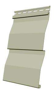 Панель сайдинга Docke корабельная доска цвет фисташка