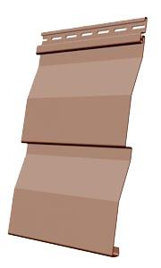 Панель сайдинга Docke корабельная доска цвет капучино