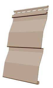 Панель сайдинга Docke корабельная доска цвет крем-брюле