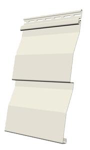 Панель сайдинга Docke корабельная доска цвет сливки