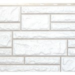 Фасадная панельVox камень цвет хамелеон белый