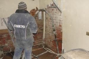Усиление фундамента методом цементации