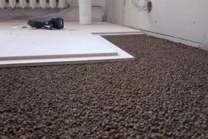 Стоимость работы по сухой стяжки пола Кнауф
