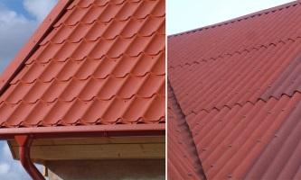 Что лучше Ондулин или металлочерепица для крыши дома?