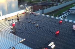 Капитальный ремонт крыши многоквартирного дома.