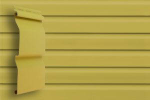Классический сайдинг Гранд Лайн Корабельная доска цвет Кремовый