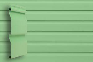 Классический сайдинг Гранд Лайн Корабельная доска цвет Салатовый