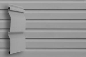 Классический сайдинг Гранд Лайн Корабельная доска цвет Серый