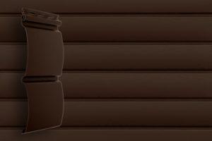 Акриловый сайдинг Гранд Лайн Блок хаус цвет Темный Дуб